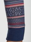 Платье трикотажное с этническим принтом oodji #SECTION_NAME# (разноцветный), 14001064-3/35468/7945J - вид 5