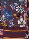 Платье трикотажное с воротником-стойкой oodji #SECTION_NAME# (красный), 14001229/47420/4979F - вид 5