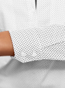 Рубашка базовая с нагрудными карманами oodji #SECTION_NAME# (белый), 11403222B/42468/1229D - вид 5