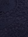 Трикотажное платье oodji для женщины (синий), 24005127/42827/7900L