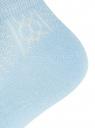 Комплект ажурных носков (3 пары) oodji #SECTION_NAME# (синий), 57102702T3/48022/21 - вид 4