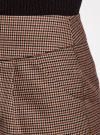 Юбка короткая с карманами oodji #SECTION_NAME# (бежевый), 11605056-2/22124/3337C - вид 4