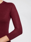 Платье базовое с рукавом 3/4 oodji для женщины (красный), 63912222-1B/46244/4900N - вид 5