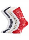 Комплект из шести пар хлопковых носков oodji #SECTION_NAME# (разноцветный), 57102902-4T6/10231/13 - вид 2