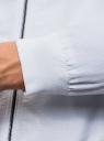 Ветровка на молнии с воротником-стойкой oodji #SECTION_NAME# (белый), 1L514013M/48148N/1000N - вид 5