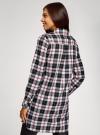 Платье-рубашка с карманами oodji #SECTION_NAME# (разноцветный), 11911004-2/45252/2912C - вид 3