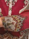 Блузка из струящейся ткани с принтом oodji #SECTION_NAME# (красный), 21411144-3/35542/4939E - вид 5