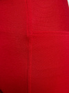 Легинсы с широким поясом oodji #SECTION_NAME# (красный), 18700047/37809/4500N - вид 5