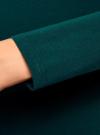Платье трикотажное облегающего силуэта oodji #SECTION_NAME# (зеленый), 14001183B/46148/6E01N - вид 5
