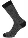 Комплект из трех пар носков oodji #SECTION_NAME# (черный), 7O233003T3/47469/2919J - вид 3