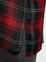 Блузка из вискозы с вышивкой на спине oodji #SECTION_NAME# (красный), 11411171/46974/2945C - вид 5