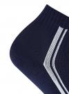 Комплект из шести пар носков oodji #SECTION_NAME# (синий), 57102708T6/48300/2 - вид 3