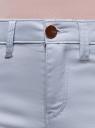 Шорты джинсовые стретч с отворотами oodji для женщины (синий), 12807082B/45491/7000W