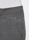 Брюки трикотажные (комплект из 3 пар) oodji #SECTION_NAME# (серый), 16700030-5T3/46173/2500M - вид 5