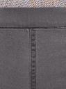 Джинсы-легинсы базовые oodji для женщины (серый), 12104043-8B/47015/2300W