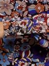Платье прямого силуэта из струящейся ткани oodji #SECTION_NAME# (синий), 11900150-13/13632/2970F - вид 5