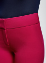 Брюки классические со стрелками oodji для женщины (розовый), 11700214-1B/14917/4700N