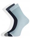 Комплект из трёх пар носков oodji #SECTION_NAME# (разноцветный), 57102908T3/15430/2 - вид 2