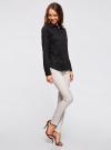 Рубашка базовая с нагрудными карманами oodji #SECTION_NAME# (черный), 11403222B/42468/2900N - вид 6