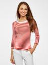Комплект футболок с длинным рукавом (2 штуки) oodji для женщины (разноцветный), 14201005T2/46158/1