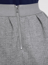 Юбка из фактурной ткани на эластичном поясе oodji #SECTION_NAME# (серый), 14100019-1/43642/2300M - вид 5