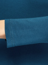 Водолазка хлопковая oodji для женщины (синий), 15E02001/46147/7901N