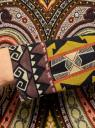 Футболка с длинным рукавом и этническим принтом oodji для женщины (коричневый), 14201014/14675/3731E