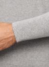 Футболка хенли с длинным рукавом oodji #SECTION_NAME# (серый), 5B515005M/47885N/2300M - вид 4