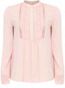 Блузка oodji для женщины (розовый), 11411096/45197/4000N
