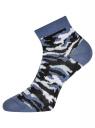 Комплект из трех пар укороченных носков oodji для женщины (разноцветный), 57102418T3/47469/20