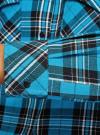 Платье-рубашка с карманами oodji #SECTION_NAME# (бирюзовый), 11911004-2/45252/7329C - вид 5