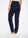 Комплект трикотажных брюк (2 пары) oodji #SECTION_NAME# (синий), 16700030-15T2/46173/7900N - вид 3