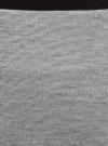 Юбка прямая базовая oodji #SECTION_NAME# (серый), 24101048-4B/46944/2300M - вид 4