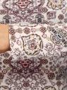 Футболка с длинным рукавом oodji для женщины (разноцветный), 24201007B/46147/1219E