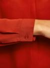 Блузка из струящейся ткани oodji #SECTION_NAME# (красный), 11400368-3/32823/4501N - вид 5