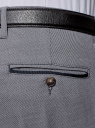 Брюки slim со стрелками oodji для мужчины (серый), 2L210227M/48109N/7900O