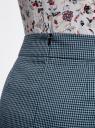 Юбка короткая с карманами oodji #SECTION_NAME# (синий), 11605056-2/22124/7029C - вид 4