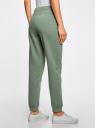 Комплект трикотажных брюк (2 пары) oodji #SECTION_NAME# (разноцветный), 16700030-15T2/46173/19VUN - вид 3