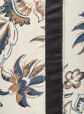 Джинсы принтованные скинни oodji для женщины (слоновая кость), 12103115/42858/3079E