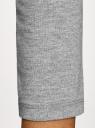 Платье облегающее с вырезом-лодочкой oodji #SECTION_NAME# (серый), 14017001-6B/47420/2300M - вид 5