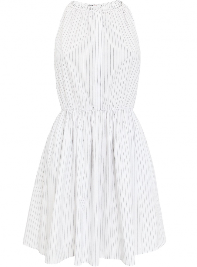 Платье oodji для женщины (белый), 11900186/42811/1029S
