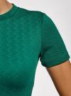 Платье облегающего силуэта на молнии oodji #SECTION_NAME# (зеленый), 14011025/42588/6E00N - вид 5