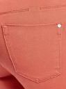 Джинсы цветные slim oodji для женщины (красный), 12103132B/45610/3100N