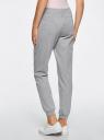Комплект трикотажных брюк (2 пары) oodji #SECTION_NAME# (серый), 16700030-15T2/47906/2300M - вид 3