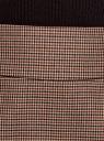 Юбка короткая с карманами oodji #SECTION_NAME# (бежевый), 11605056-2/22124/3337C - вид 5
