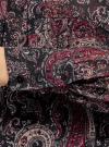 Платье шифоновое с асимметричным низом oodji #SECTION_NAME# (черный), 11913032/38375/2966E - вид 5