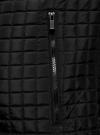 Куртка стеганая с капюшоном oodji #SECTION_NAME# (черный), 1B112007M/46376N/2900N - вид 5