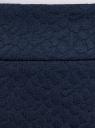 Юбка трикотажная на молнии oodji для женщины (синий), 24101036-4/47199/7900N