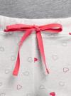Пижама хлопковая с принтом oodji #SECTION_NAME# (серый), 56002220-5/49940/2012Z - вид 5