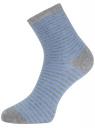 Комплект из трех пар носков oodji для женщины (разноцветный), 57102466T3/47469/19DKN